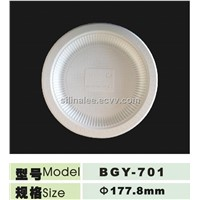 eco-friendly corn starch biodegradable 7inch plate