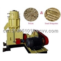 flat die pellet machine in machinery