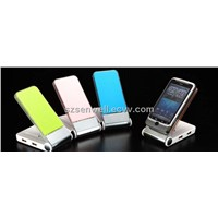 Folded USB Hub with Mobile Phone Holder