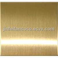 hairline stainless steel color