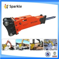 hydraulic demolition hammer