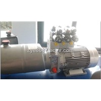 hydraulic power unit for tyre changer