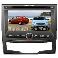 in-dash/touch screen car dvd android with gps for Ssang Yong Korando