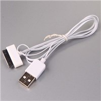 iphone 4/4s cable,flat data cable for iphone 4/4s