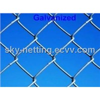 Plastic Coated Diamond Wire Mesh 2.5mm Diameter 2''hole