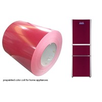 prepainted color coil for home appliances