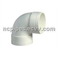 pvc pipe fitting, 90 elbow