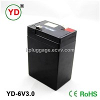 rechargeable ups battery 6v3.0ah