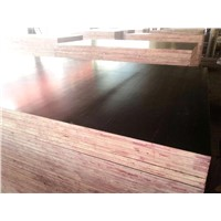 Selling Logo Black and Brown Film Faced Plywood