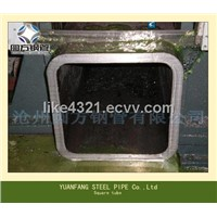 square steel pipe,rectangular steel pipe