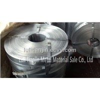 strip Steel for packaging galvanized  strip