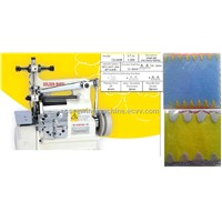 the crochet sheel stitching machine