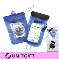 Transparent Waterproof Bag White Dry Case PVC Waterproof Pouch