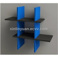 wall cube shelf wooden shelves