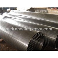 water well screen/oil well screen/slot wire screen/sieve bend screen