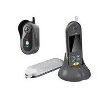 2.4G wireless intercom color video phone doorbell