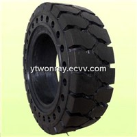 industrial forklift solid tire