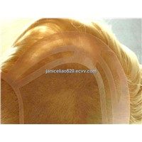 lace front hair replacement for men/ hair toupee