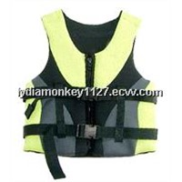 neoprene surface Life Jacket China-1022, good quality and confortable jacket nice style first choise