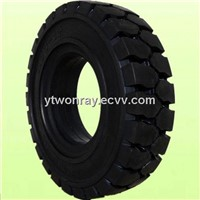 solid OTR tire for industrial vehicles