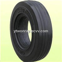 tractor trailer solid tire