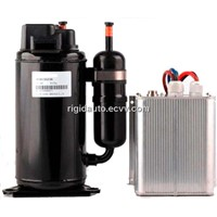 Sell R134A DC Compressor for auto,vehicle and vessel air conditioning