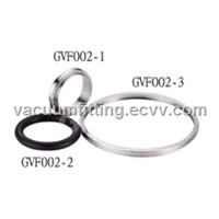 Center & outer ring & O-ring (Viton) for vacuum system and semiconductor equipment