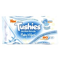 Tushies Sensitive Formula Baby Wipes