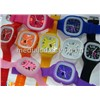 Colorful Silicone Jelly Watch for Promotional Gifts