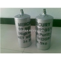"Exclusive Silver Liquid Mercury~~99.999% Purity (Grade A"")"