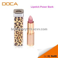 2200mAh Lipstick Power Bank Portable Charger for cell phone