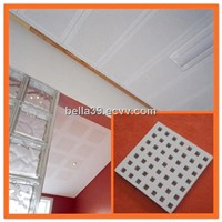 2013 hot selling 603*603*12mm acoustic gypsum ceiling tiles