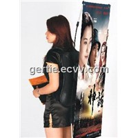 Backpack X Banner Stand / Backpack Stand / Moving Display Stand