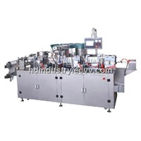 DMB-280B Automatic Horizontal Gel Liquor Swab Sticker Packing Machine