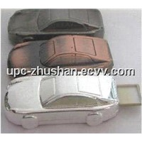 Fashionable Metallic Car USB Flash Memory