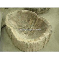 Fossil Wood stone Sink