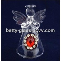 Glass Angel, Glass Christmas Ornaments, Christmas Gifts to Friends