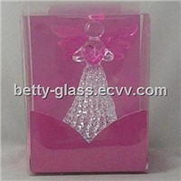 Glass Angel, Glass Christmas Ornaments, Chrsitmas Gifts to Friends