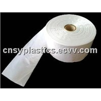 HDPE transparent Plastic Roll pack food bag/Can liner/Bin liner