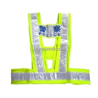 High Quality Polyester Fabric Traffic Vest / Reflective Vest