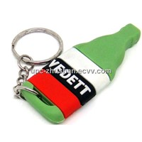 Keychain Silicon Customized Cup Shaped USB Flash Pen Drive