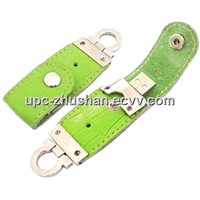 OEM Gifts 8GB 4GB Leather USB Flash Disk