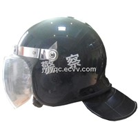 PC /ABS Material Full Protective Anti-Riot Helmet with Visor