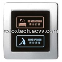 Touch Doorbell DisplayController/Hotel Touch Control Doorbell System