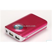 Universal External Portable Rechargeable USB Power Bank Battery Pack Charger  for iPhone
