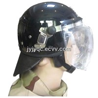Well Sold PC Material Anti-Riot Helmet with Mask
