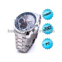1080P Watch Hidden Camera With Night Vision Waterproof (SW1039)
