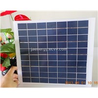 10W poly solar panel for solar lighting system