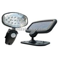 15LED Solar Motion Sensor PIR Flood Light