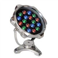 18W IP68 LED underwater light 15, 30, 45 degree